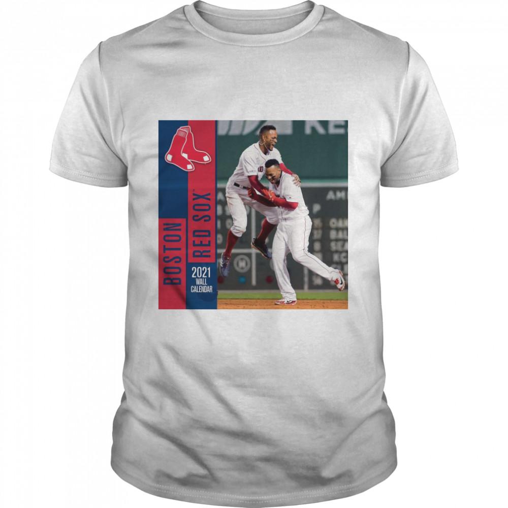 John F Turner Boston Red Sox 2021  Classic Men's T-shirt