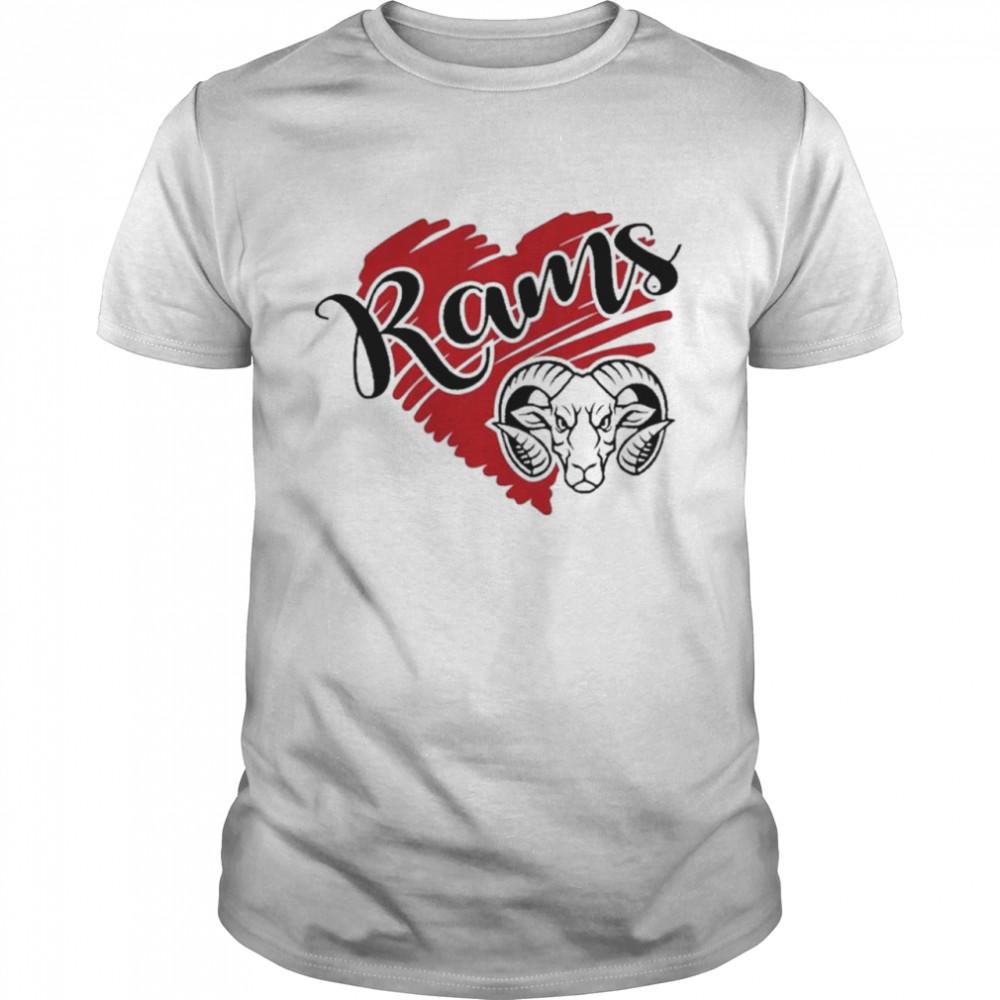 Rams team football soccer baseball volleyball shirt Classic Men's T-shirt