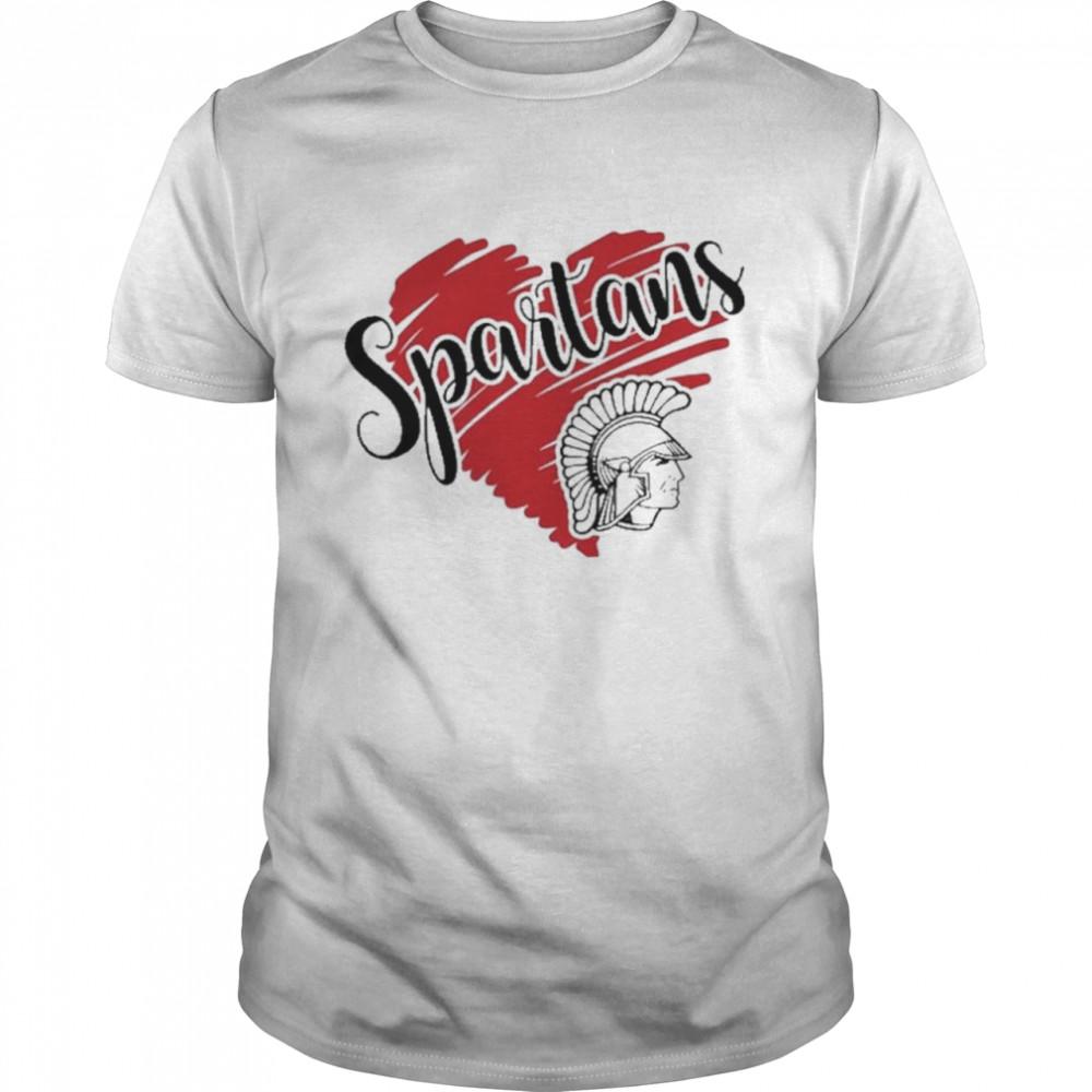 Spartans football soccer baseball volleyball shirt Classic Men's T-shirt