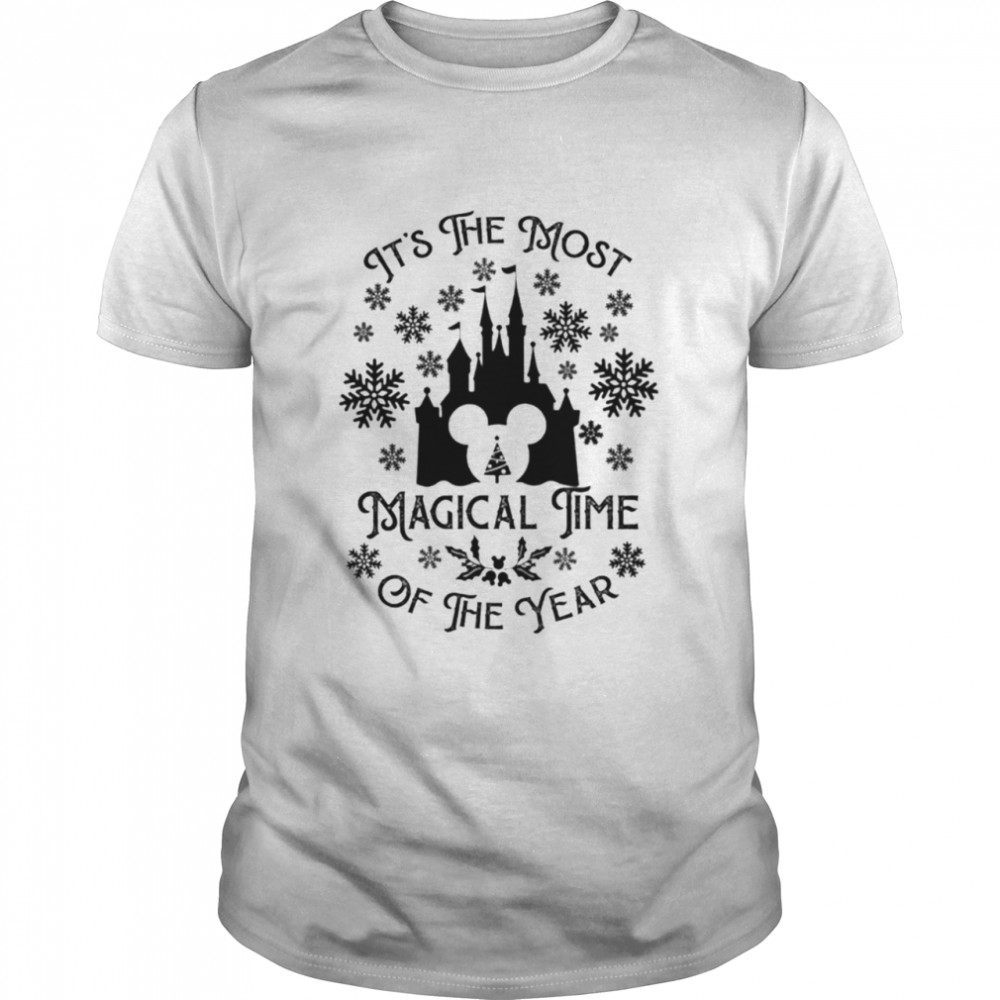 Disney It's the most magical time of the year Christmas shirt Classic Men's T-shirt