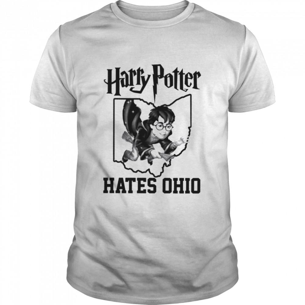 Harry Potter Hates Ohio  Classic Men's T-shirt