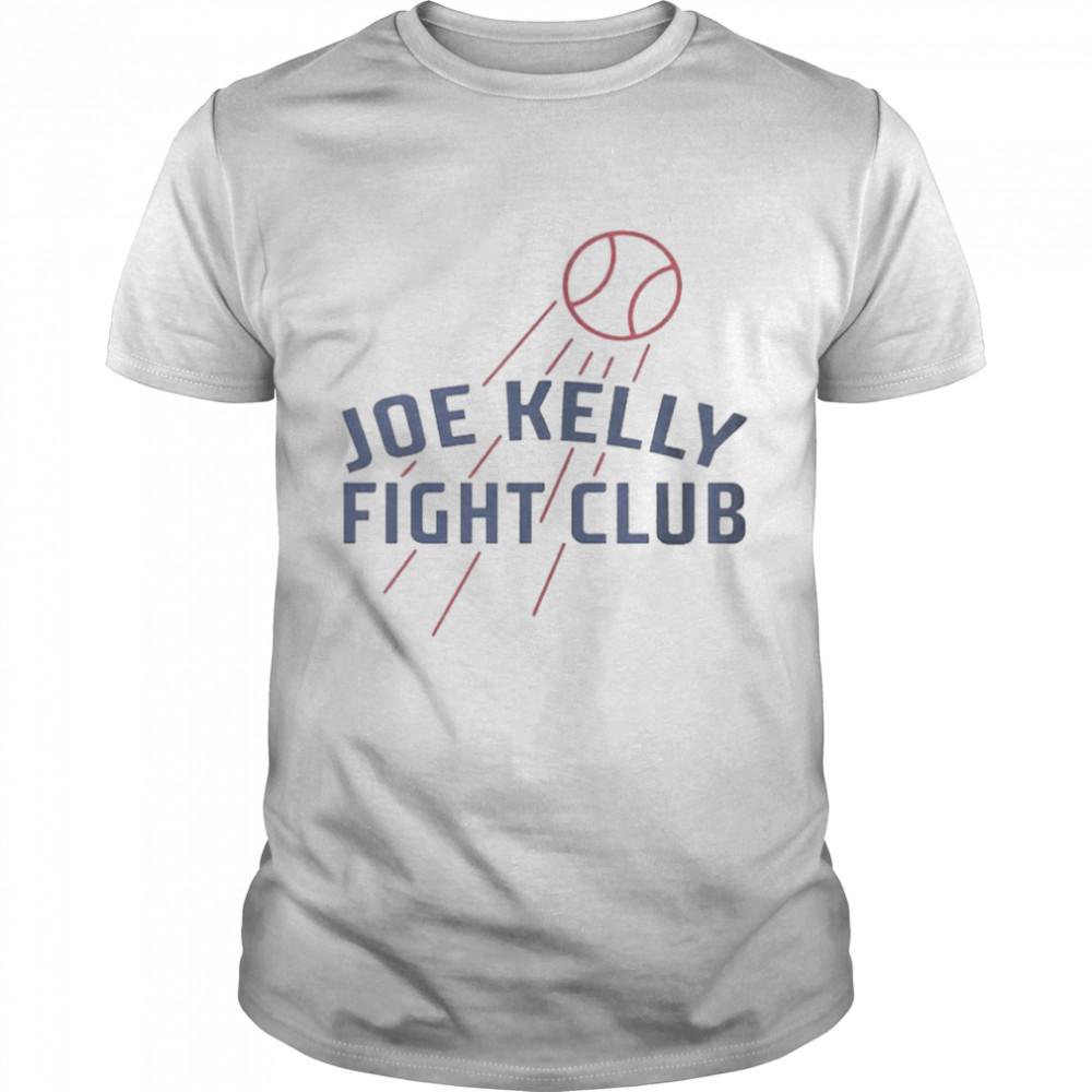 Joe Kelly Fight Club Baseball Tee shirt Classic Men's T-shirt