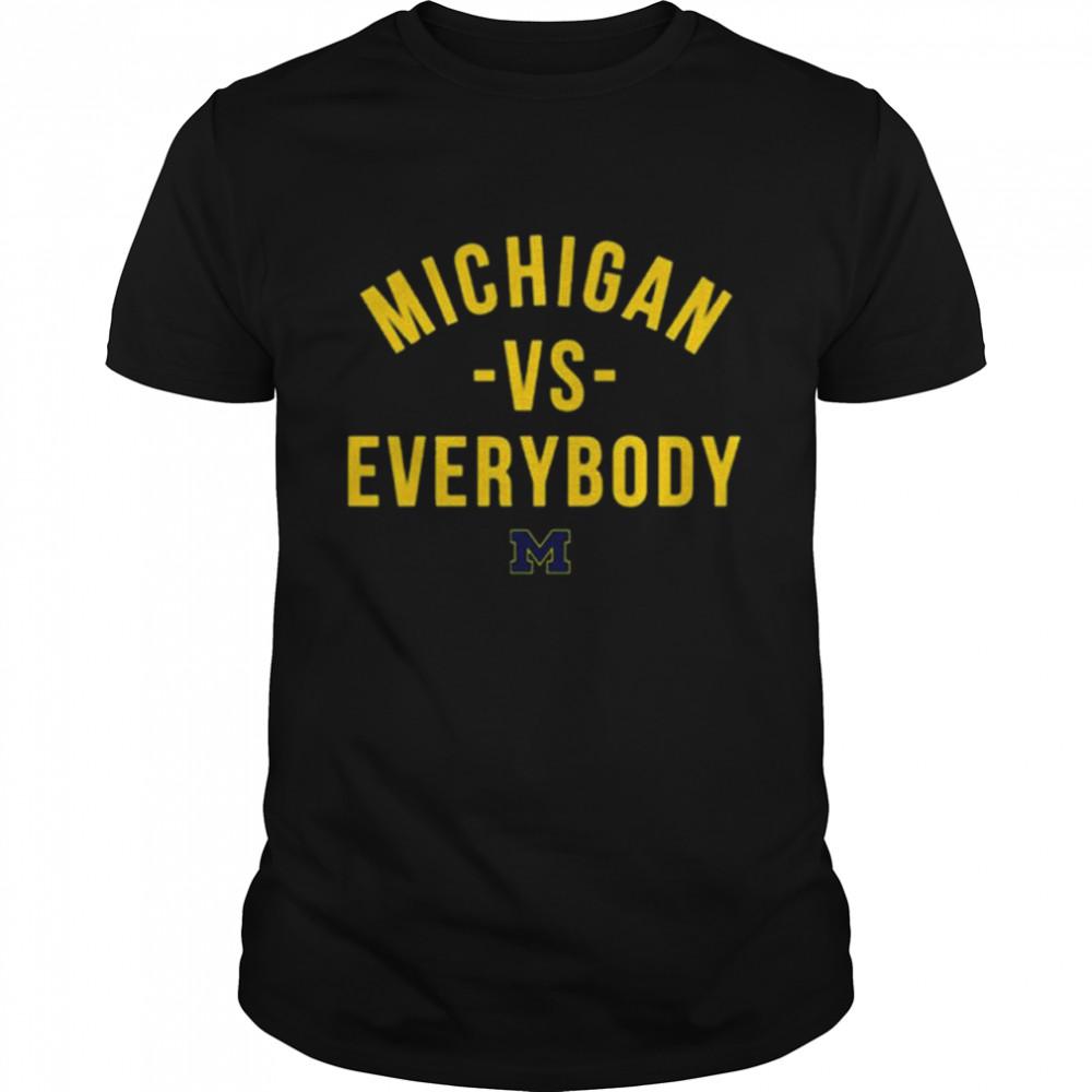 Michigan Football vs Everybody shirt Classic Men's T-shirt