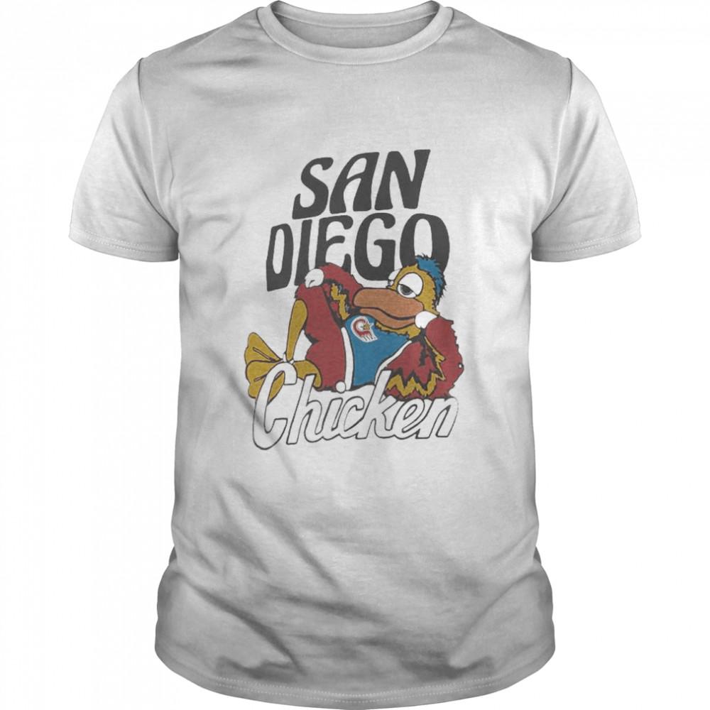 San Diego Padres chicken homage hyper shirt Classic Men's T-shirt